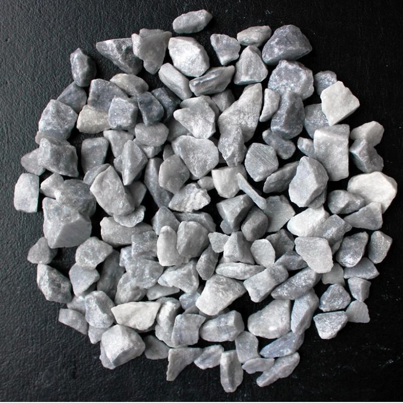 Щебень мраморный 5-10 мм серый