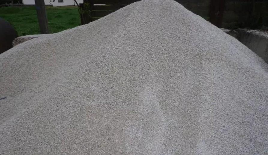 мраморный песок серый крупн