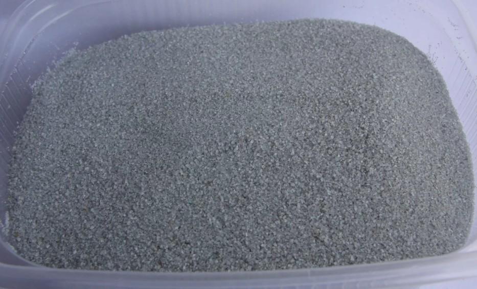 Мраморный песок (отсев) 0,5-1 мм серый