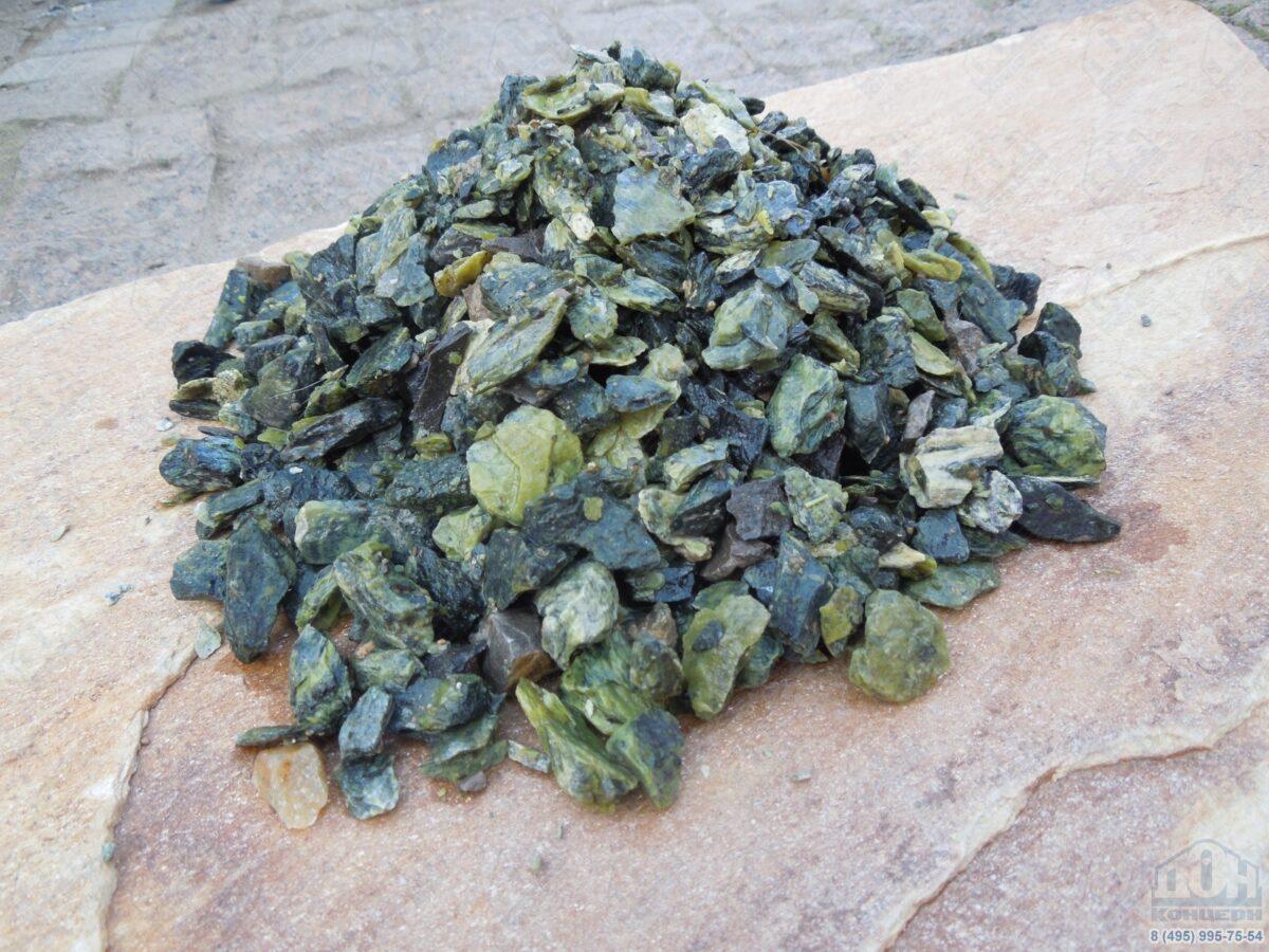 Серпентинит щебень 10-20 мм